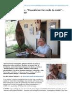 Quemtemmedodademocracia.com-D Pedro Casaldliga O Problema Ter Medo Do Medo Especial Para o QTMD