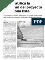 150320 La Verdad CG- La UE ratifica La Legalidad Del Proyecto de La Zona Este p.7