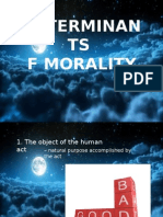 Determinants and Implication of Morality.pptx