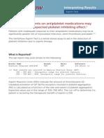 14341D-InterpretingResults Aspirin Test