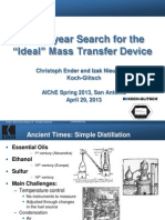 100 Year Search Ideal Mass Transfer Device