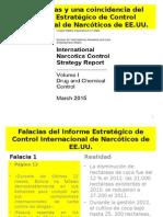 Seis falacias del Informe Estratégico de Control Internacional de Narcóticos de EE. UU.