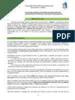 Edital Nº 15 - 2014 - Femass - Processo Seletivo Para Acesso Aos Cursos de Graduação Em Administração, Engenharia de Produção e Sistemas de Informação