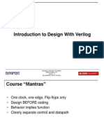 Introduction to Design With Verilog