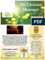 March 22 Newsletter
