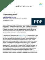 Alcance de La Solidaridad Del Art. 30 LCT