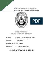 Espacio Vectorial Basicas II