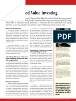 Concentrated Vlaue Investing