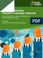Digital Marketing Plan Template Smart Insights