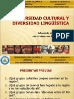 Diversidad Cultural y Linguistica