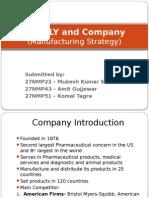 ELI LILY Company Case Study