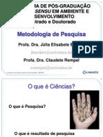 Metodologia Cientifica 2012 Modular