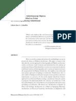 Cabalfin-Phil Arki Historiography