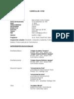 Currículum Vitae Mario Cortes