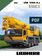 Liebherr LTM 1100-4.2 Mobile Crane_100t_Information