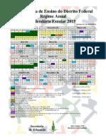 Calendário SEDF 2015