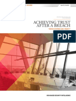 Achieving Trust After a Breach
