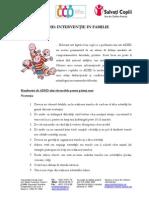 ADHD Interventie in Familie