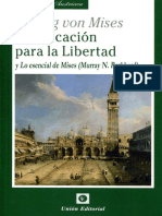 Planificacion para la libertad de Ludwig von Mises.epub