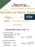 Teoria Económica_2007 FIA USMP