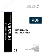 Integra Instrukcja Instalatora