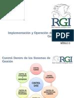 Implementación de Controles Rgi