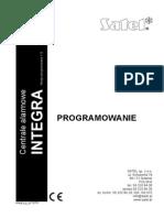 Integra Instrukcja Programowania