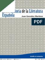 La Breve Historia de La Literatura Espanola