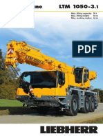 Liebherr LTM 1050-3.1 Mobile Crane_50t_Information