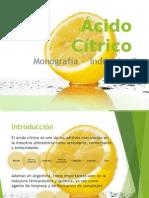 Ácido Cítrico PPT