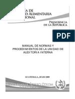 Manual Normas Procedimiento Auditoria 2009