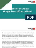 6 Beneficios de utilizar Google Tour 360 en tu Hotel