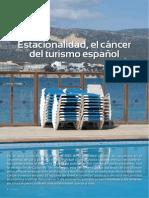 REPORTAJE-Estacionalidad El CaEncer Del Turismo EspanIol