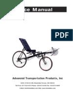 Service Manual Vision Recumbent Bike