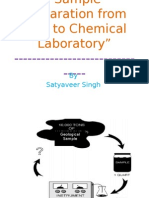 Sample Preparation From Field to Chemical Laboratory
