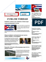 Boletín Cuba de Verdad 52-2015