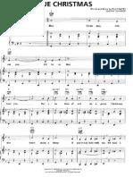 Blue Christmas Piano sheet music