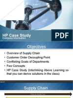 HP Supply Chain Case Study
