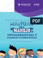 Manual Para El Manejo de Intolerancias y Alergias