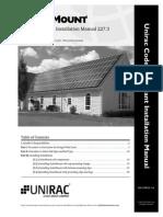 UNIRAC Manual