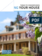 Selling Your House Spring 2015