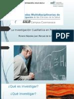 La Investigación Cualitativa en Psicología