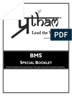 Bms Special Booklet