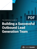 Building a successful outbound lead Generation team
