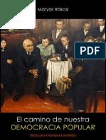 Mátyás Rákosi; El camino de nuestra democracia popular, 1952.pdf