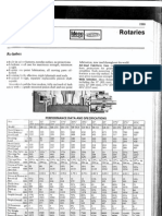 Ideco Rotary Table Datas