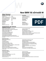 Fichas técnicas All New BMW X6 xDrive50i M Sport Package.pdf