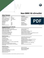 Fichas técnicas All New BMW X6 xDrive30d.pdf