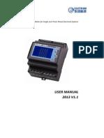 Eastron SDM630 User Manual V2013
