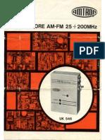 Amtron UK546 - Ricevitore AM-FM 25-200 MHz (File Gentilmente Inviato Da Alberto)